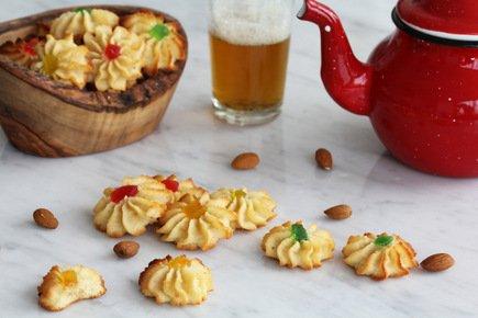 567- Almond cookies – Gluten Free / كوكيز اللوز خالية من الغلوتين