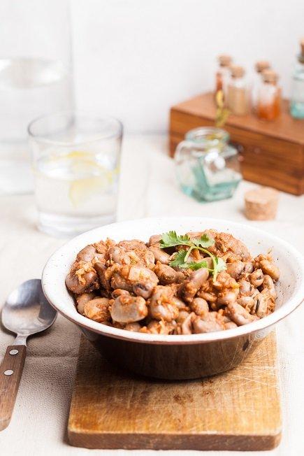 581- Fava bean salad / فول مشرمل