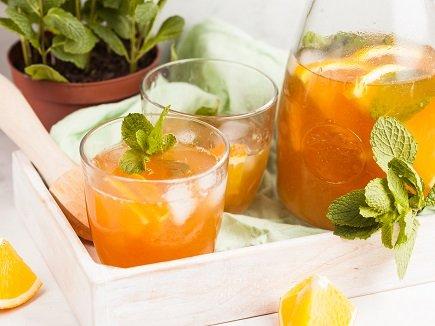 609- Thé Glacé A L'orange / Orange Iced Tea