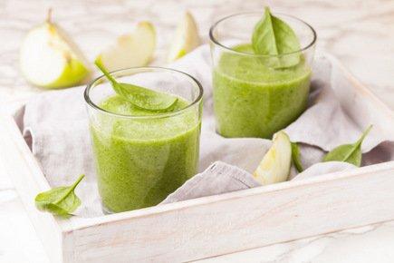 628- Spinach Cucumber Green Smoothie / عصير السبانخ و الخيار