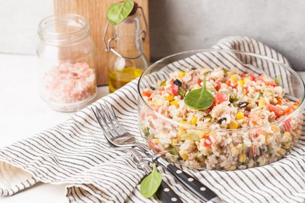 634- Salade de Riz Complet / Whole Grain Rice Salad