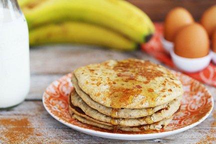 618- Banana Pancakes / فطائر الموز