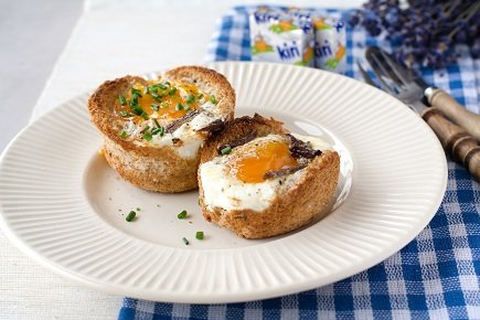 646- Caissettes d'oeuf au Khlii / قفيفات البيض بالخليع