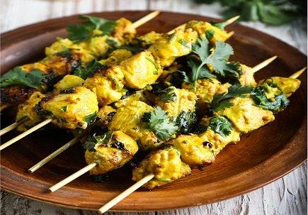 651- Chicken skewers / بروشيت الدجاج
