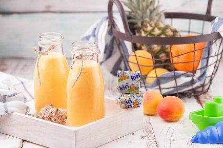 680- Smoothie Soleil / عصير الأناناس والمشمش