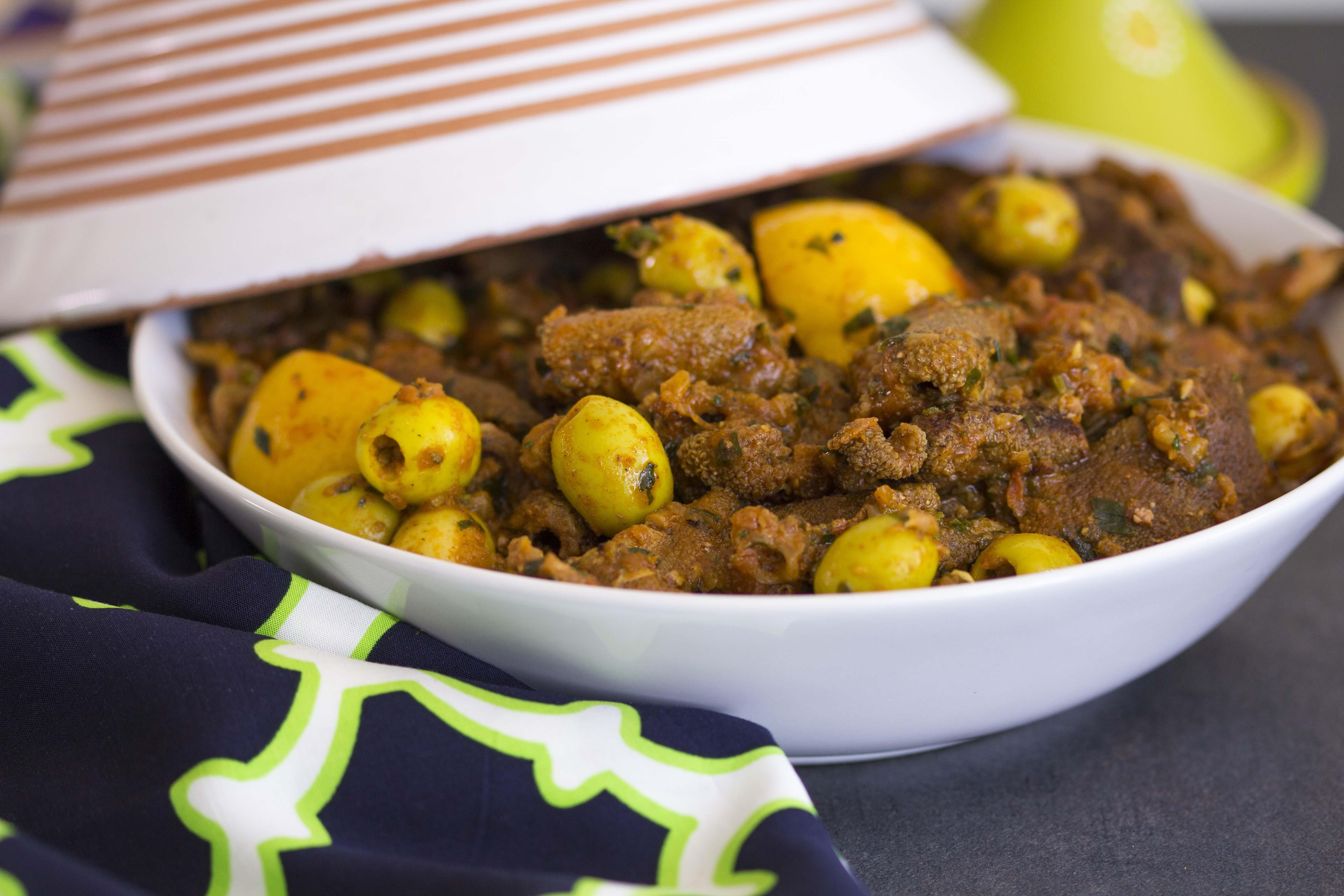 684- Tkelia (Lamb Stomach Stew) / التقلية (طبق معدة الخروف)
