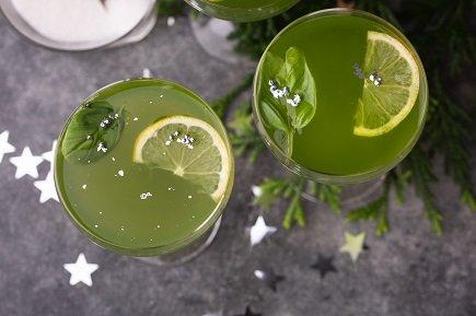 699- Basil Lemonade / عصير الليمون والريحان