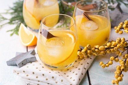 697- Orange Pineapple Cocktail / كوكتيل البرتقال والأناناس