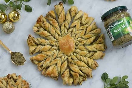 700- Soleil Feuilleté aux Pesto / Sun Tart with Pesto