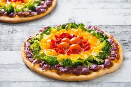 717- Pizza En Couleurs / Rainbow Pizza