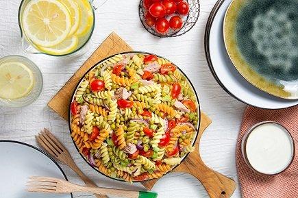 743- Tuna Pasta Salad / سلطة المعكرونة مع التونة