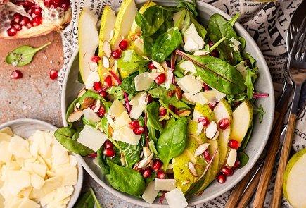 753- Salade De Pomgrenare Et Poires / Pear Pomgrenare Salad