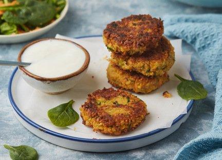 781- فطائر الحمص بالخضر / Veggie Chickpea Burgers
