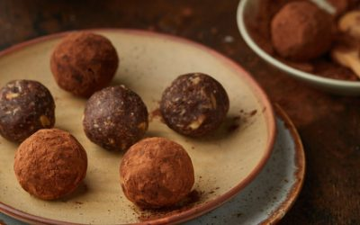 794- Boules de Brownie Saines  / Healthy Brownie Balls
