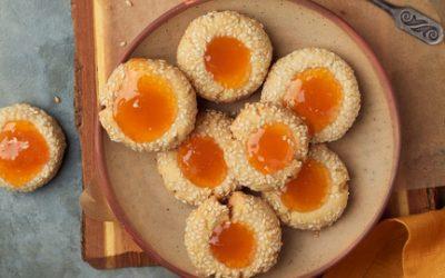799- Sablés aux Graines de Sésame / Sesame Cookies