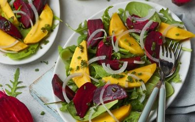 802- Beetroot & Mango Salad / سلطة البنجر (الباربا) والمانجو