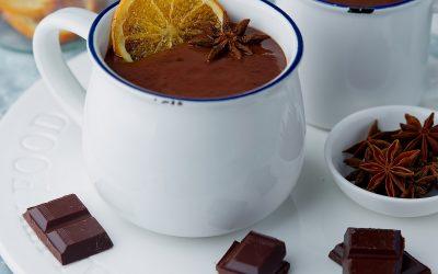 834- Orange Anise Hot Chocolate / شوكولاتة ساخنة بالبرتقال واليانسون