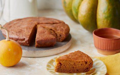 830- Whole Wheat Pumpkin Cake / كعكة اليقطين بالقمح الكامل