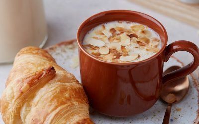 835- Chocolat chaud blanc aux saveurs marocaines / Moroccan Style White Hot Chocolate