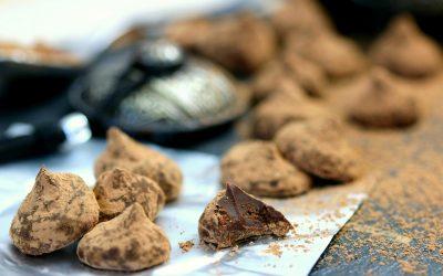 831- Chocolate Truffles / ترافل بالشوكولاتة