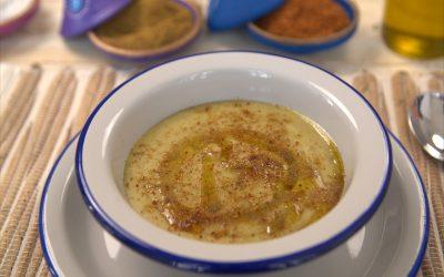 858- Soupe marocaine aux fèves (Bissara) / Moroccan Fava Beans Soup