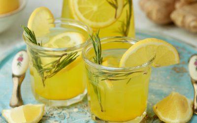 872- Ginger Lemonade / ليمونادة بالزنجبيل