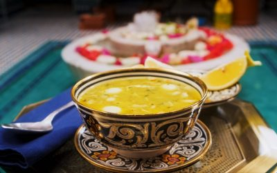 871- Chicken and Almond Soup / شربة الدجاج باللوز