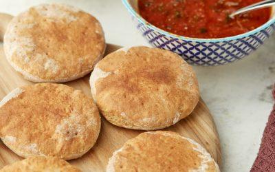 895- Pâte à Pizza à La Farine Complète / Whole Wheat Pizza Dough
