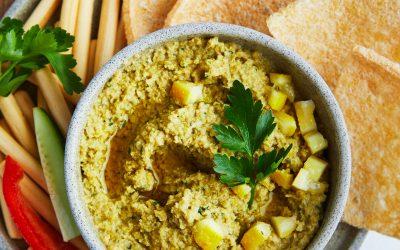 919- Green Olive & Corn Tapenade / تابناد الزيتون الأخضر والذرة