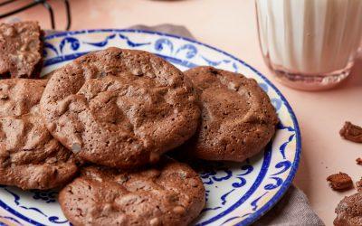 903- Brownie Cookies (Brookies) / كوكيز براوني