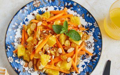 933- Moroccan Carrot Salad / سلطة الجزر المغربية