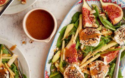 937- Amlou and Goat Cheese Salad / سلطة أملو وجبن الماعز